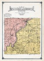 Albion and Komensky Township, Halcyon, Clay, Hatfield, Jackson County 1914